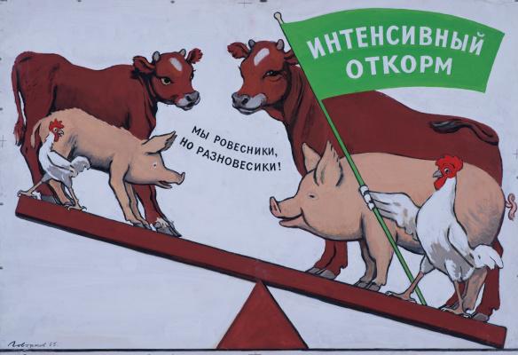 Виктор Иванович Говорков. Интенсивный откорм