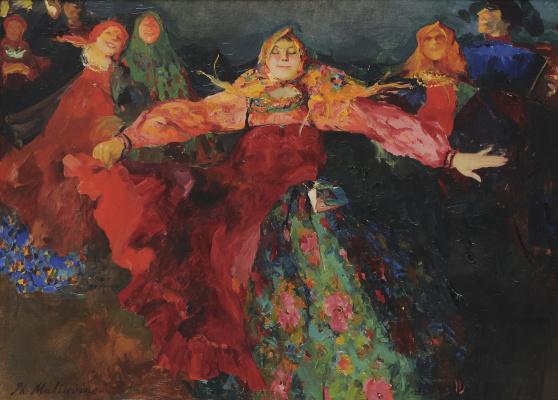 Philip Andreevich Malyavin. Dance