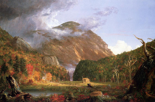 Thomas Cole. White mountain