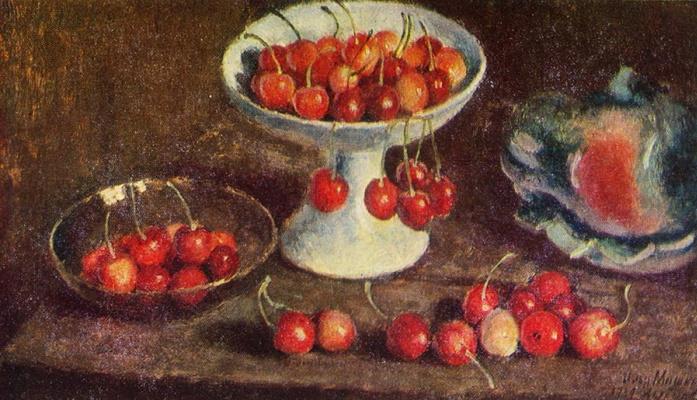 Ilya Ivanovich Mashkov. Cherry