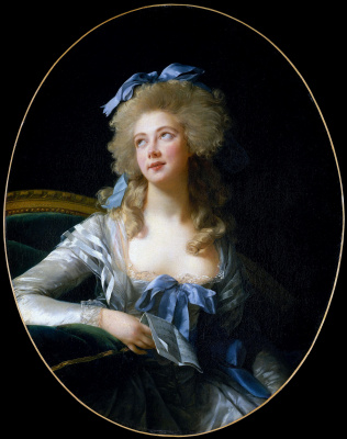 Elizabeth Vigee Le Brun. Portrait of Madame Grand