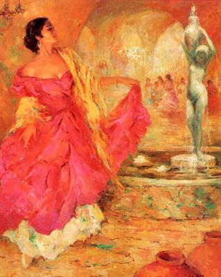 Мэрилин Бенделл. В танце