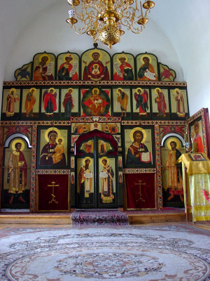 Igor Yurevich Drozhdin. The iconostasis of the chapel of Theodore Stratelates