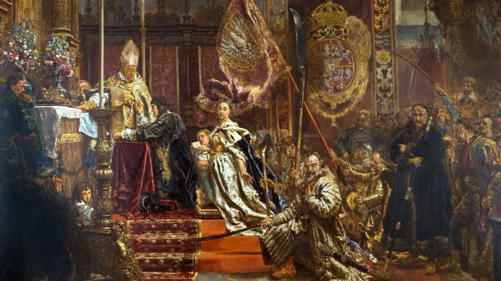 Jan Matejko. Vow of King Jan Casimir