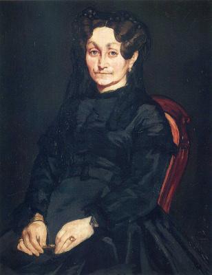 Edouard Manet. Madame Auguste Manet