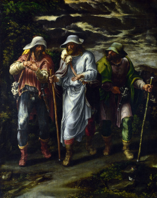 Lelio Orsi. The walk to Emmaus