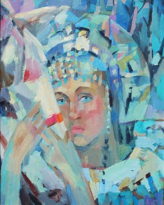 Irina Valerievna Antonovskaya. White horse