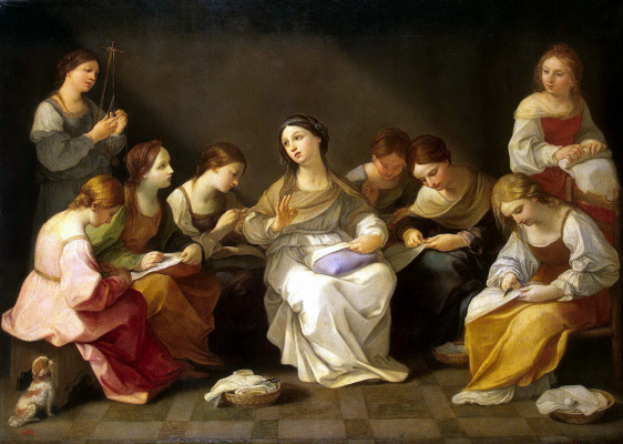 Guido Reni. The Youth Of The Virgin Mary