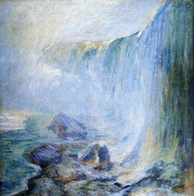 Джон Генри Твахтман. Водопад Ниагарский