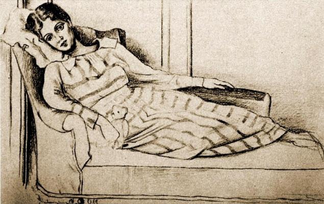 Пабло Пикассо. Портрет Ольги Хохловой