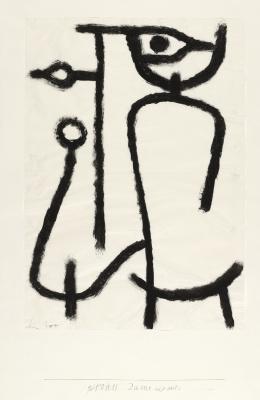 Paul Klee. Леди