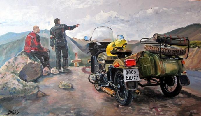 Dariya Zakharova. On a halt
