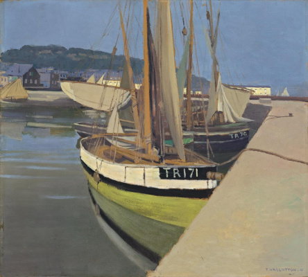 Felix Vallotton. Port (Un port)