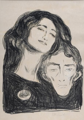 Edvard Munch. Salome