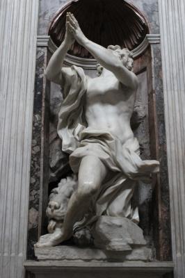 Gian Lorenzo Bernini. Daniel and the lion