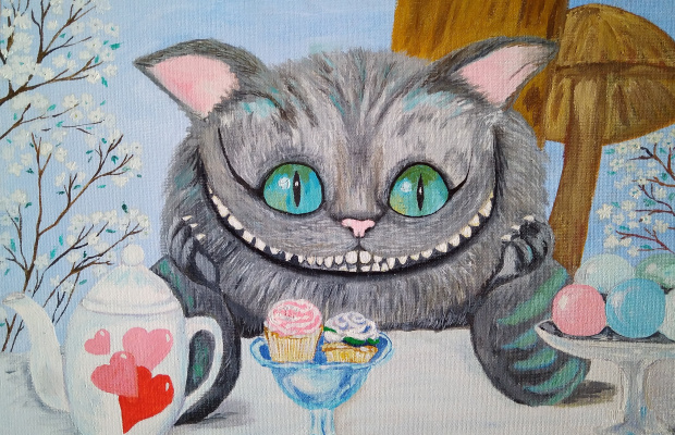 Olga Pavlovna Georgieva. Cheshire Cat