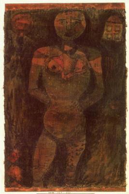 Paul Klee. Nude