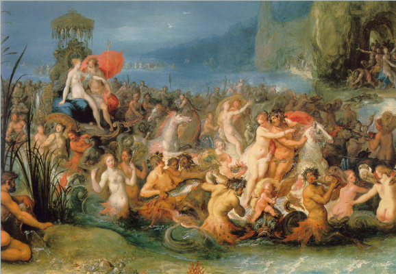 Frans Franken the Younger. The Triumph Of Neptune