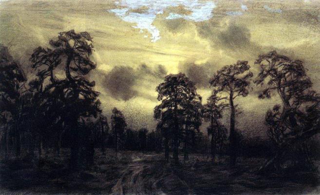 Apollinarius Mikhailovich Vasnetsov. Night