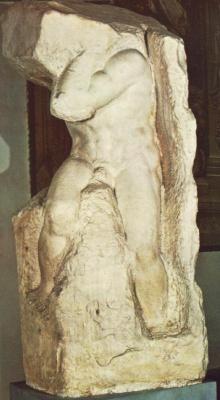 Микеланджело Буонарроти. Атлант