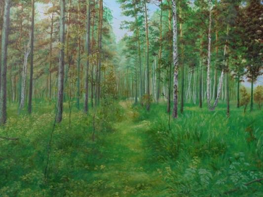Вадим Маслов. В лесу