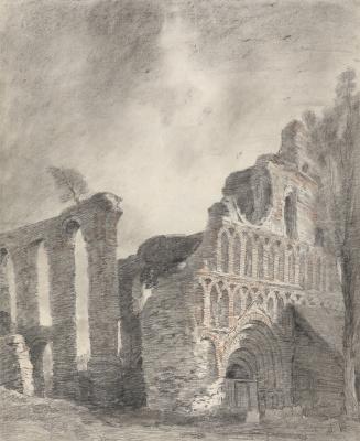 Джон Констебл. Руины монастыря святого Ботолфа, Колчестер