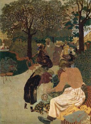 Жан Эдуар Вюйар. Женщины в саду