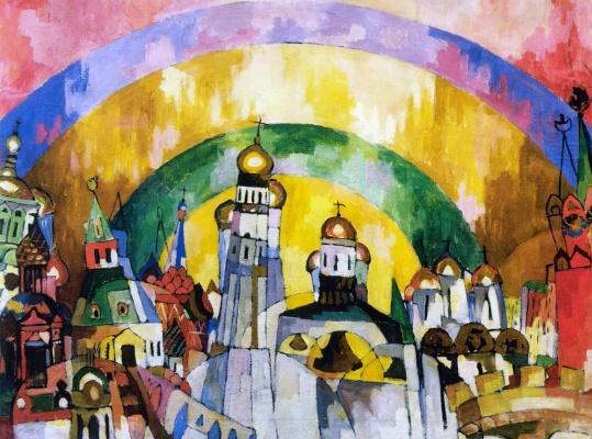Aristarkh Vasilyevich Lentulov. The sky