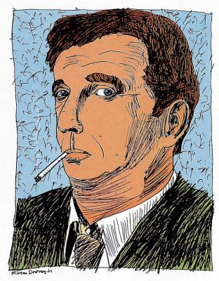 Рофер  Де Мут. Мужчина с сигаретой