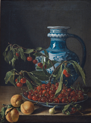 Luis Melendez. Still life with fruit and jug