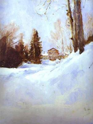 Валентин Александрович Серов. Зима в Абрамцеве
