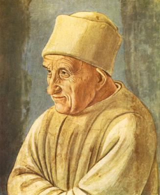 Filippino Lippi. Portrait of an old man
