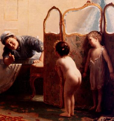 Пол Пил. Перед ванной