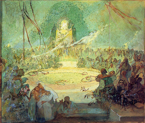 Alfons Mucha. Age of love