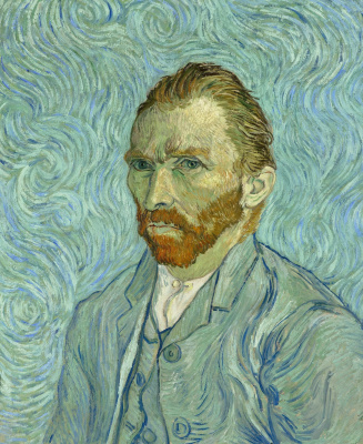 Vincent van Gogh. Self-portrait