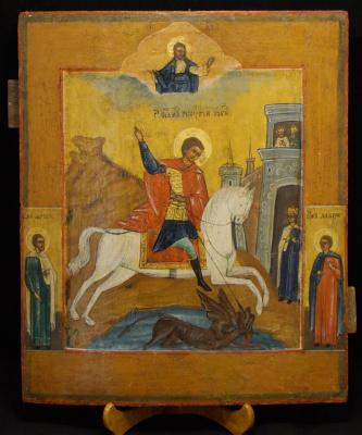 Неизвестный  художник. Святой Георгий Победоносец