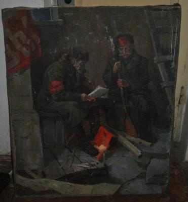Edward Ignatievich Galaktionov. Revolutionaries.