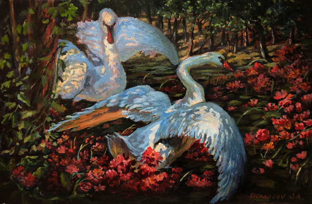 Gennady Dumov. Swans