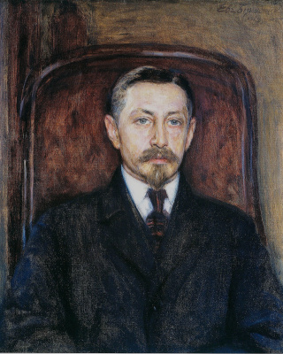 Евгений Иосифович Буковецкий. Portrait of Ivan Bunin