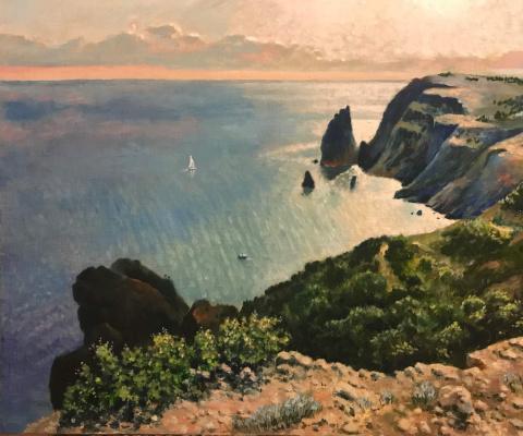 Yuri Gennadievich Piskunov. Cape Fiolent. Crimea