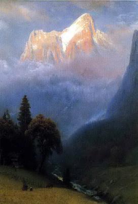 Альберт Бирштадт. Шторм в Альпах
