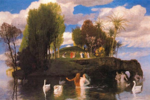 Arnold Böcklin. Marvellous island