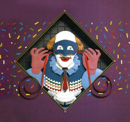 Билл Финвуд. Синяя маска