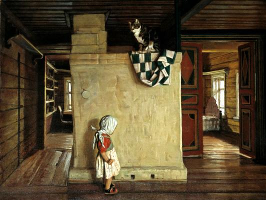 Nikolay Y. Anokhin. In the old house Rakitin