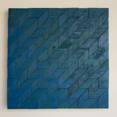 Koshtura Istvin. Object, square gray-blue