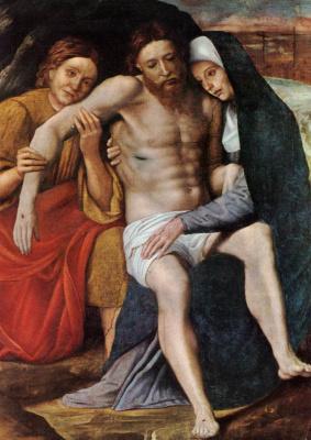 Giovanni Francesco Caroto. Mourning