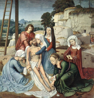 David Gerard. The descent from the cross