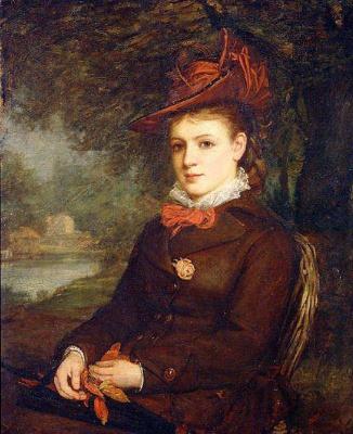 Джон Уильям Уотерхаус. Портрет молодой женщины