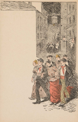 Theophile-Alexander Steinlen. The singing company
