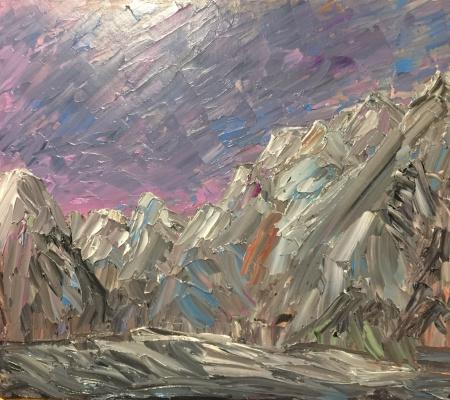 Victoria Valentinovna Zachkova. The mountains